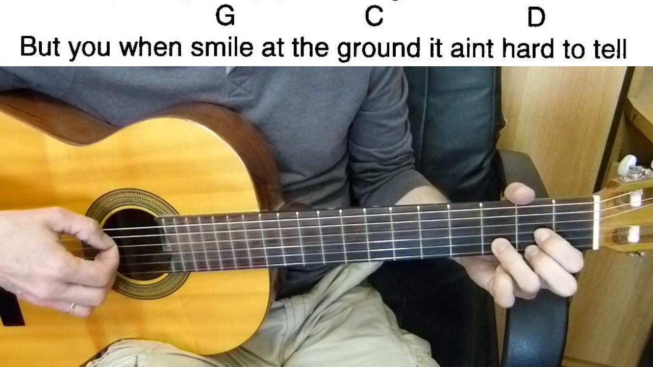 Guitar Accompaniment 1d What Makes You Beautiful Easy Guitar