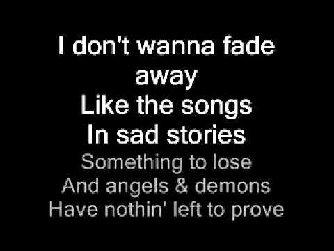 Automatic Loveletter - Fade Away (karaoke)