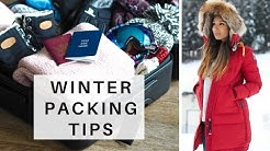 WINTER TRAVEL PACKING TIPS | What To Take On A Winter Vacation | Go Live Explore