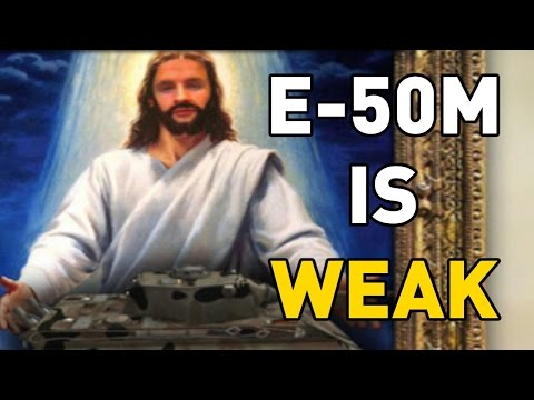 World of Tanks || E-50M IS WEAK