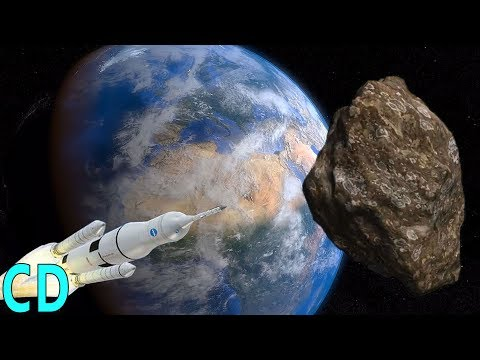 Could We Save Earth from a Giant Asteroid Impact ?