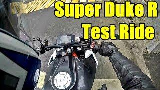 KTM 1290 Super Duke R. Тест райд с комментариями