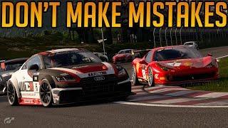Gran Turismo Sport: Don't Make Mistakes Kids