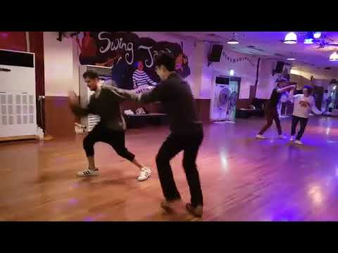 Felipe & JP social dance Oct 16  SwingHappy