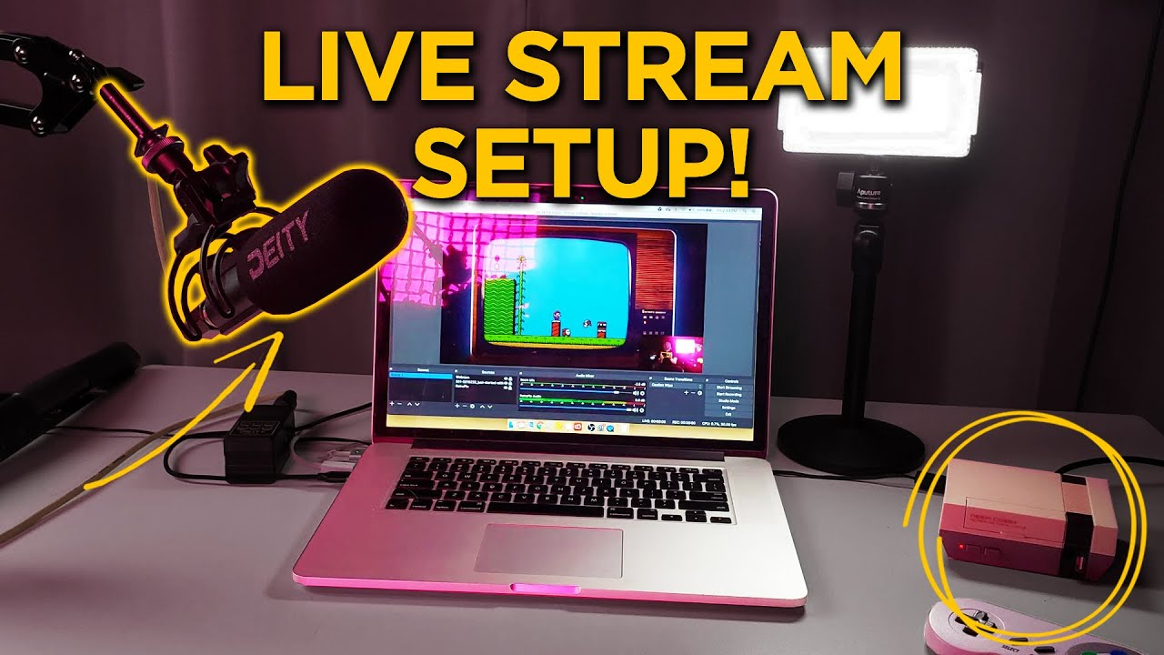 How To Set Up a Live Stream With OBS Studio | A Guide to Twitch Streaming Your Games