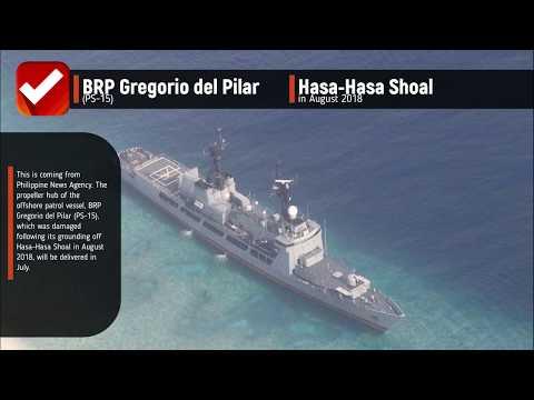 BRP GREGORIO DEL PILAR PROPELLER HUB TO ARRIVE IN JULY
