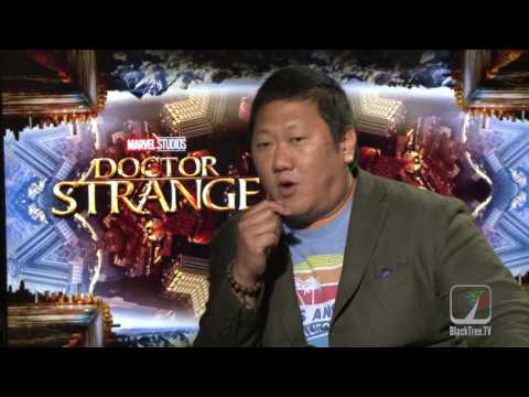 DOCTOR STRANGE Benedict Wong on being an 'asian super hero'