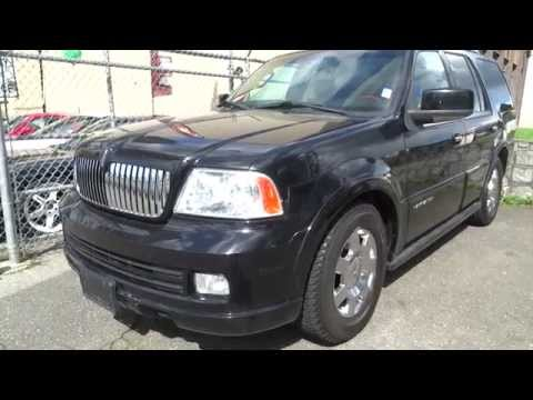 2006 Lincoln Navigator SUV in Black for sale Vancouver, BC, Canada