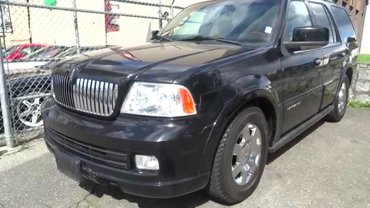 2006 lincoln navigator suv in black for sale vancouver bc canada youtube. Black Bedroom Furniture Sets. Home Design Ideas