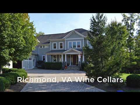 Custom Richmond, VA Wine Cellars for Your Residence