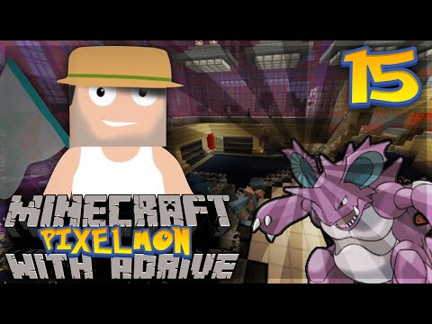 "Minecraft PIXELMON with aDrive! Ep15 ""POISON GYM!!"" - PocketPixels Red Let's Play!"