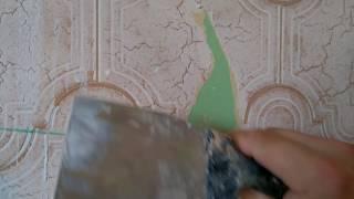видео виниловые моющиеся обои