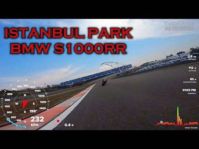 BMW S1000RR // İSTANBUL PARK PİST // GOPRO GAUGES