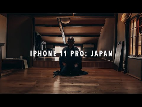 iPhone 11 Pro Cinematic 4K: Japan