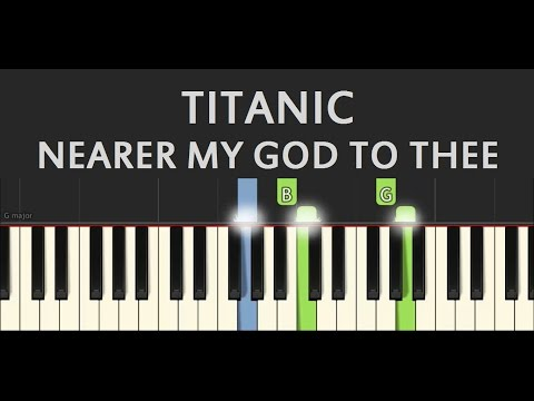 Titanic - Nearer My God To Thee - EASY Piano Tutorial by SPW