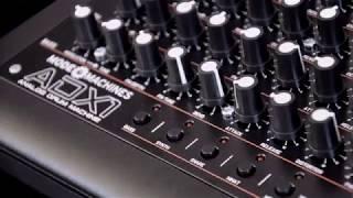 ADX -1 Analog Drum Machine -Mode Machines Unboxing & Demo sound