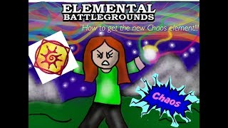 HOW TO GET THE *NEW* CONFIRMED ELEMENT ON EBG - Elemental Battlegrounds (Roblox)