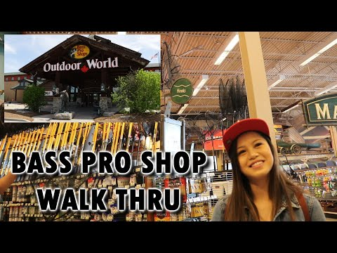 BASS PRO SHOP WALK THROUGH - This Store Is INCREDIBLE!!!