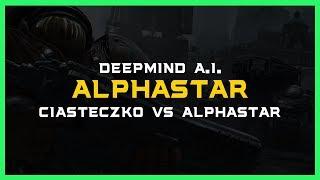 Ciasteczko vs AlphaStar [ZvT] Deepmind A.I. Starcraft 2