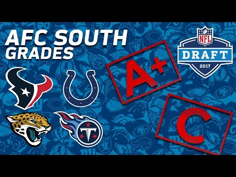 Texans, Colts, Jaguars, & Titans | AFC South 2017 NFL Draft Grades | NFL NOW