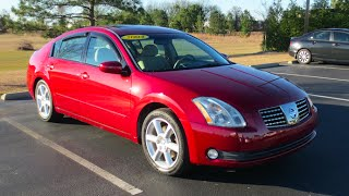 2004 Nissan Maxima 3.5 SE Full Tour & Start-up