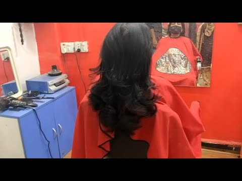 old-aunty-haircut-step-/-beautiful-and-simple-haircuts-2021