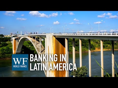 Conor McEnroy on banking in Latin America | Sudameris | World Finance Videos