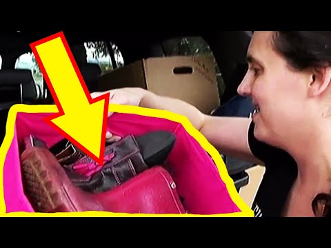 This Woman Purchased A $3 Diaper Bag From Goodwill, You Wont Believe What Was Inside