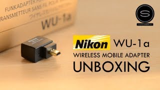 Nikon WU-1A - Wireless Mobile Adapter - Unboxing UK