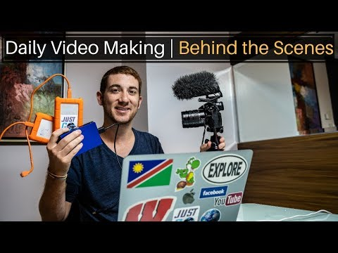 Behind The Scenes Of My Life (Daily Video Making)