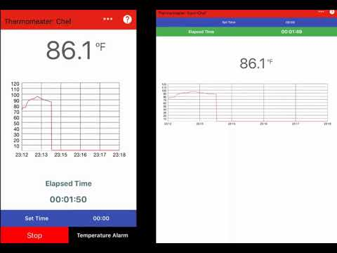 Thermomeater ios app thermometer wireless connection youtube - Thermometre connecte wifi ...