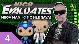 Nico Evaluates - Męga Man 1-3 Mobile/Java (Episode 4 - QUICK MAN BREAKS THE TIME BARRIER!)