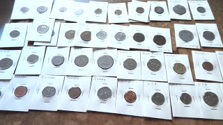 My World coins collection
