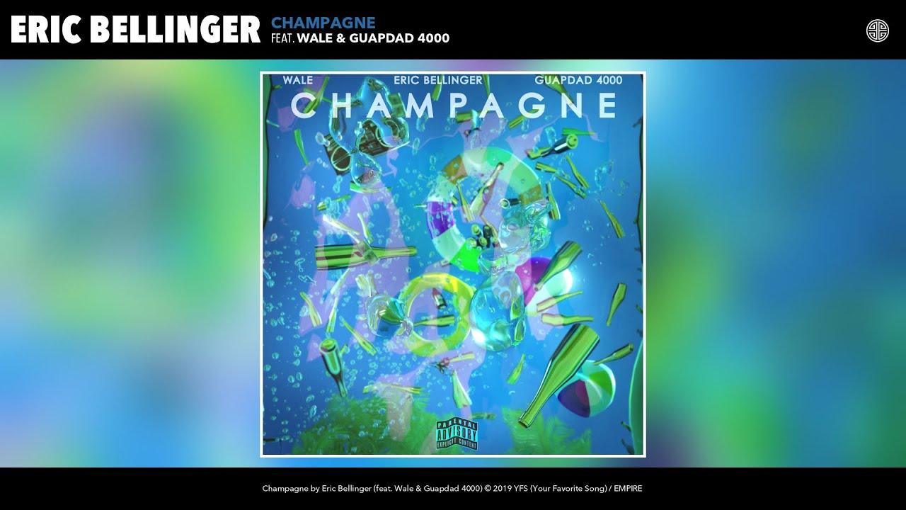 Eric Bellinger - Champagne (Audio) (feat. Wale & Guapdad 4000)