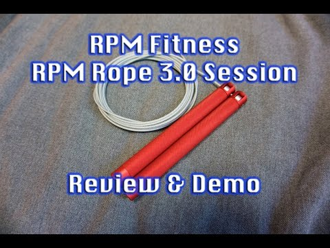 RPM Speed Rope 3.0 Session Review - Best CrossFit Jump Ropes Double Unders