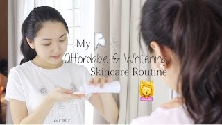 Dưỡng Da Trắng Sáng - Affordable Whitening Skincare Routine   Chloe Nguyen