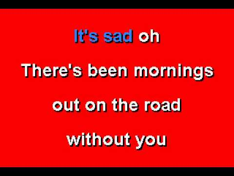 Journey -  Lights - Karaoke