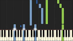 Classical piano music based on the MIDI files of Bernd