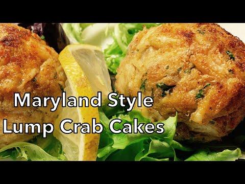 Maryland Style Lump Crab Cakes
