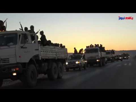 شاهد استقبال أهالي مرخة لقوات النخبة الشبوانية في عملية الجبال البيضاء _ يافع نيوز