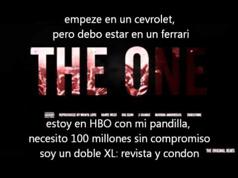 Kanye West ft. Big Sean, 2 Chainz, Marsha - the one (subtitulos, subtitulada, subtitulado español)