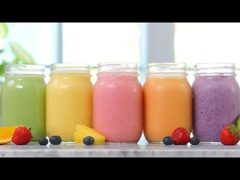 5 Frozen Fruit Smoothies + Special Unboxing!