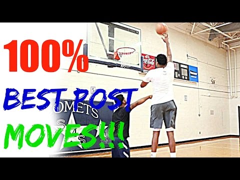 Post Moves For Big Men