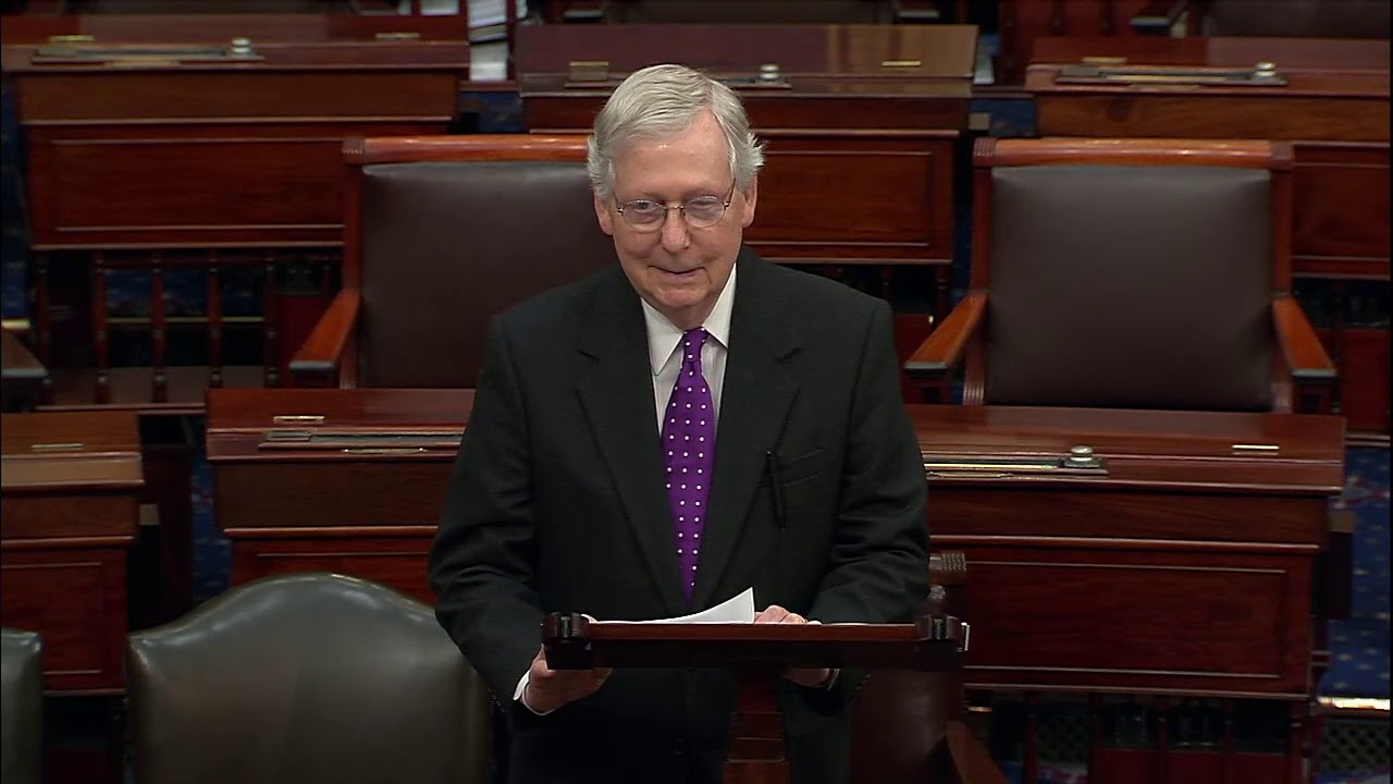 IMPEACHMENT IS OVER: Mitch McConnell Says It IS TIME To FULLY Acquit President Trump - FOX 10 Phoeni