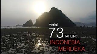 Download Video Epic Aerial - Dirgahayu 73 Tahun Republik Indonesia MP3 3GP MP4