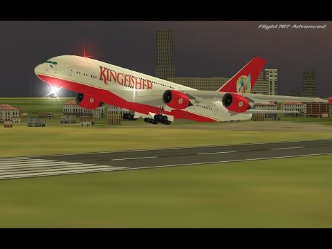 Flight 787 - Advanced - Airbus A380-[KINGFISHER (Air INDIA) from QATAR (OTHH) to BANGLADESH (VGHS)]