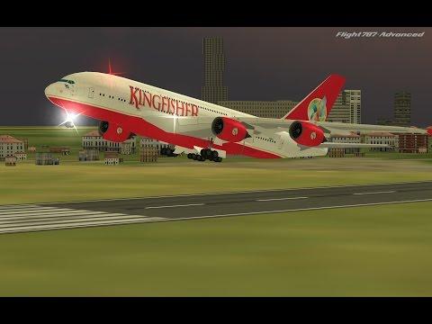 Flight 787 - Advanced - Airbus A380-[KINGFISHER (Air INDIA) from QATAR (OTHH) to BANGLADESH (VGHS)]