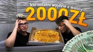 KTO OSTATNI WYJDZIE Z WANNY DOSTAJE *2000ZŁ*