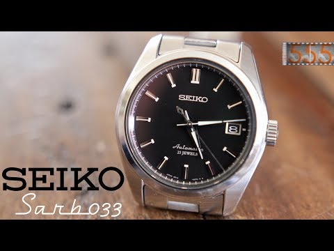 Seiko SARB033: Affordable Rolex Alternative? Dress Watch Review and Comparison by 555 Gear