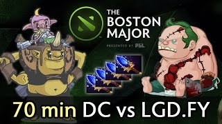 70 min crazy Boston Major game — DC vs LGD.FY